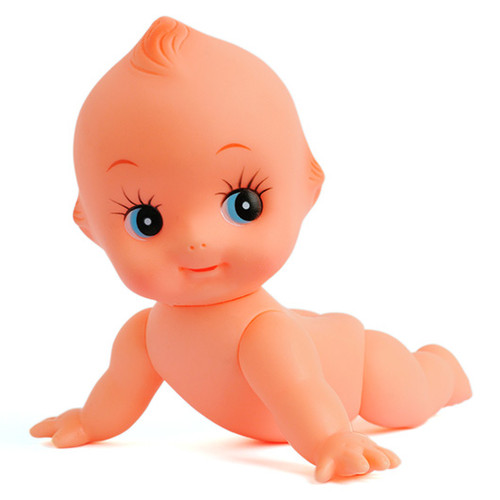 Kewpie_Doll_Baby_Cupie_crawling_Original_Japan_5.5""