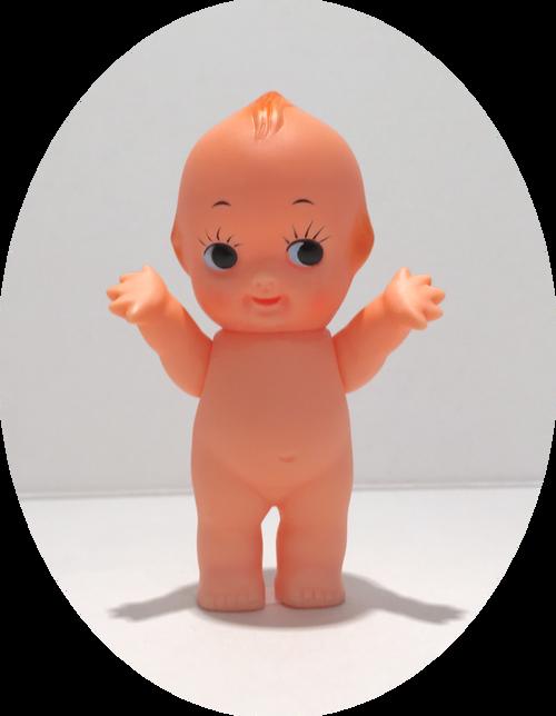 """Kewpie_Doll_Baby_Cupie_Original_Japan_3.25"""""""