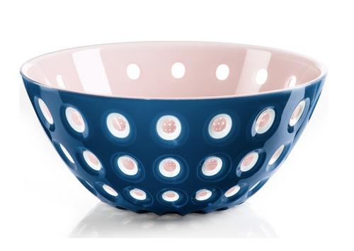 guzzini le murrine pink white mediterranean blue