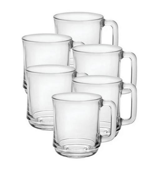 duralex lys stacking mug set 6 b