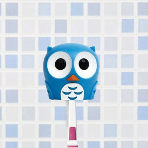kikkerland owl toothbrush 1