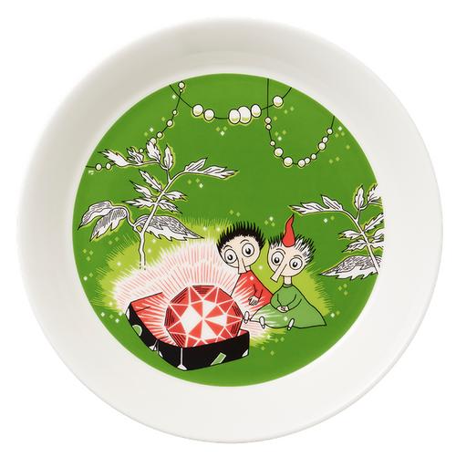 moomin thingumy and bob plate arabia
