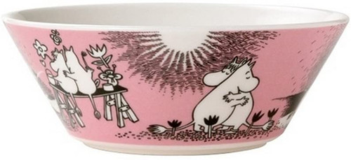 arabia moomin bowl love 1
