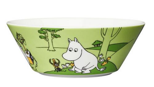arabia moomin troll bowl  1