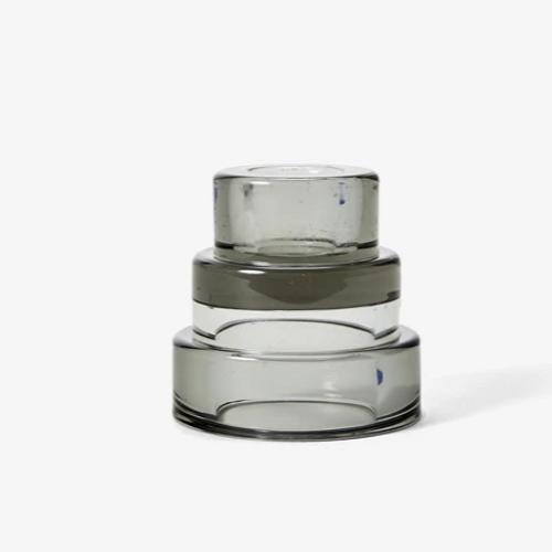 areaware Terrace Candleholder grey 3
