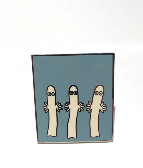 Moomin Clip Card Stand Hattifatteners