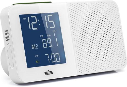 Braun Global Radio Alarm Clock BNC010WH