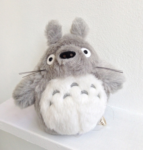 """Totoro Plush 7"""" grey"""