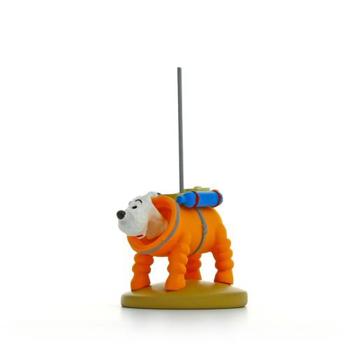 Tintin Milou Figure Moon
