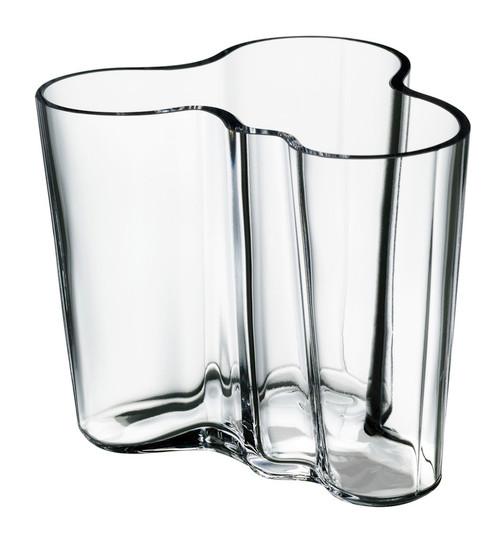 "Aalto Vase / Savoy clear 6.25"""
