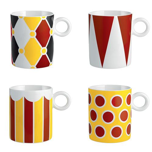 Circus Mug set of 4 alessi