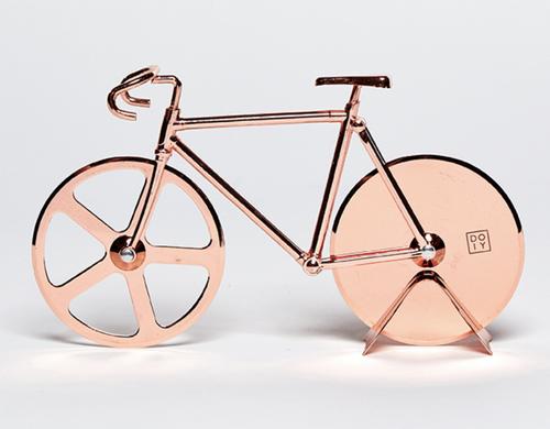 The Fixie Pizza Cutter copper
