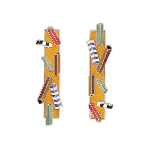Memphis Design Archive Paris Earrings