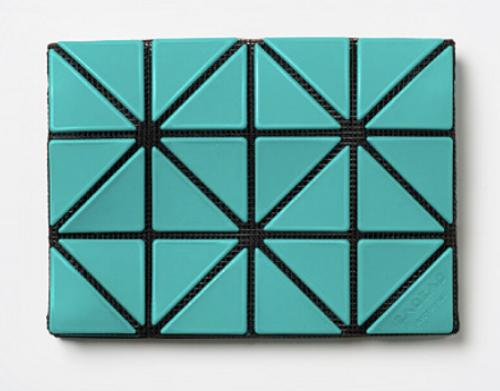 Issey Miyake Bao Bao Card Case/Wallet emerald