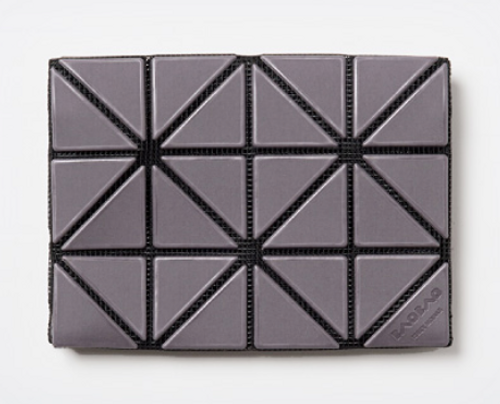 Issey Miyake Bao Bao Card Case/Wallet grey