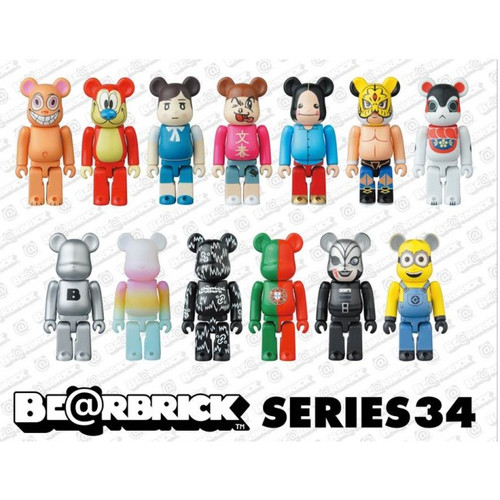 Bearbrick Series 34 / Opened box