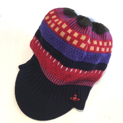 Vivienne Westwood Rapper Knitted Cap #3