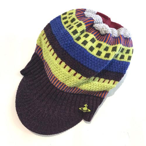 Vivienne Westwood Rapper Knitted Cap #2