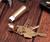 Brass Capsule Keyring