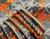 burel blanket Porto orange-grey 3