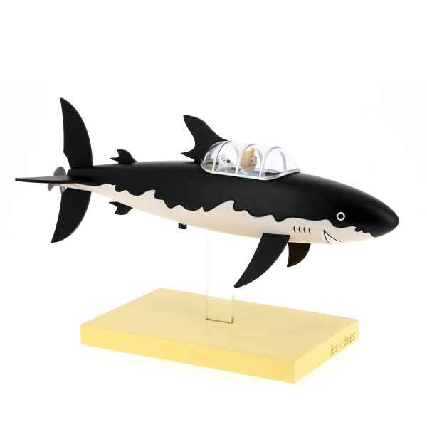 tintin shark submarine 1