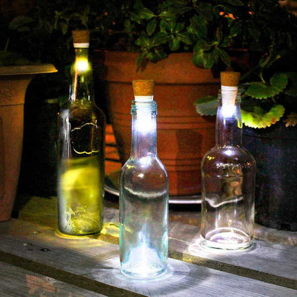 Multicolour Bottle  Light/ USB Rechargeable