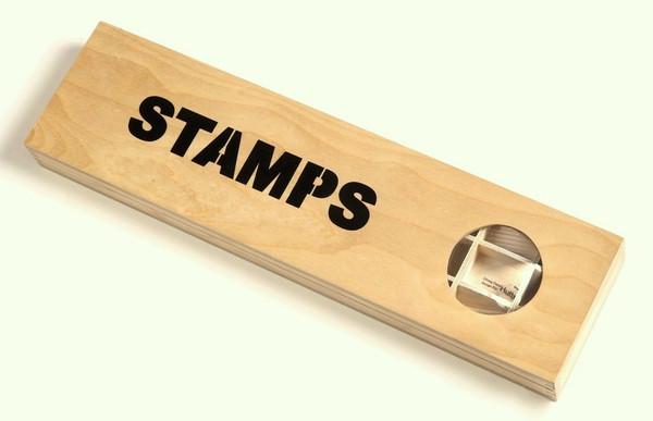 """Stamps / Keepsake Box Droog Design """"Pocket Furniture"""""""