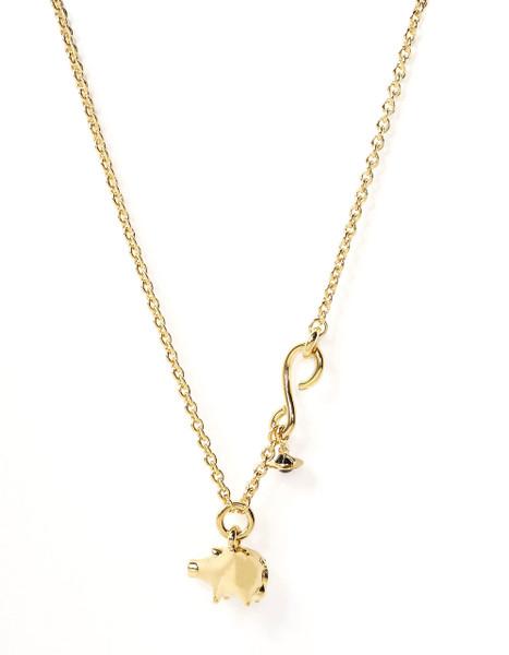 Vivienne Westwood Pig Pendant gold