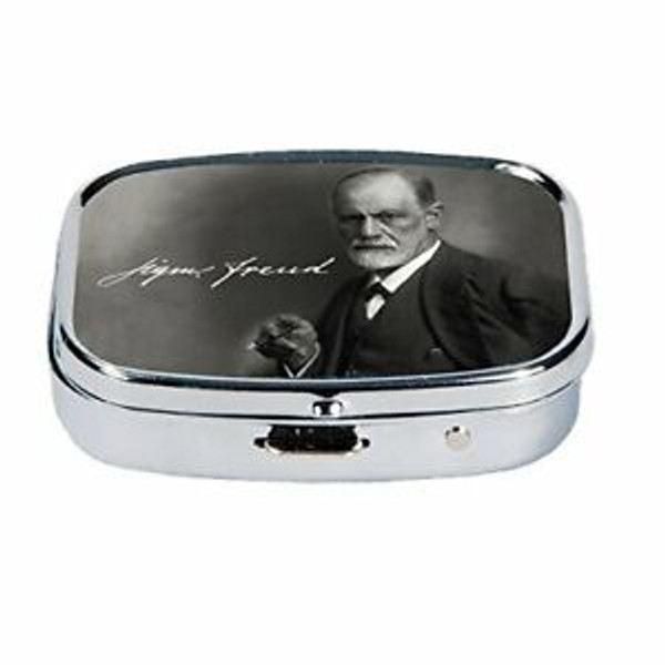 Sigmund Freud Pill Case