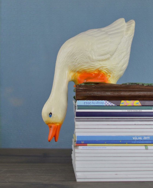 Waddles the Duck Looking Down Nightlight