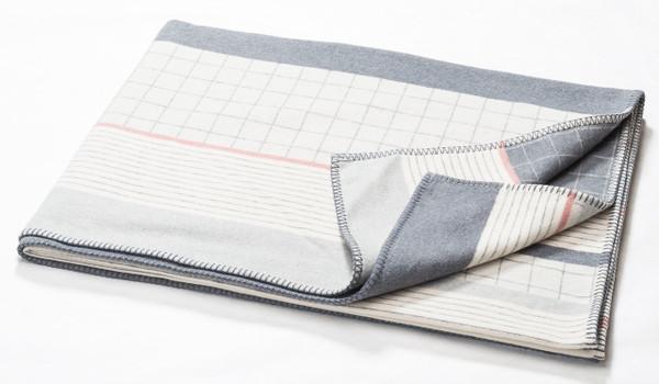 Fussenegger Blanket-Throw / Sylt Stripes Mix