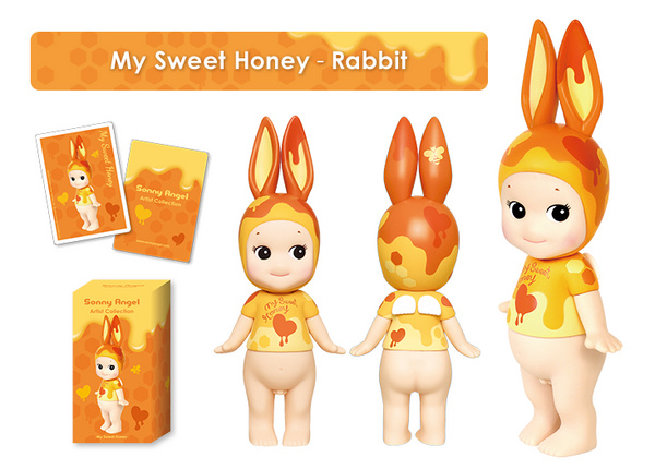"""Sonny Angel My Sweet Honey Rabbit 6"""" /Artist Collection / Limited Edition"""