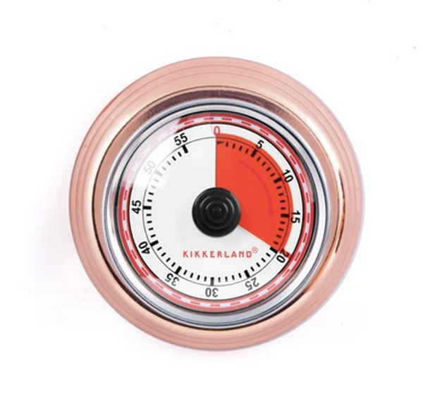 Magnetic Kitchen Timer copper