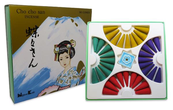 Cho Cho San Cone Incense Set