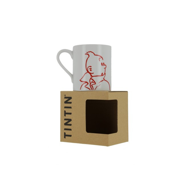Tintin Mug Tintin Outline