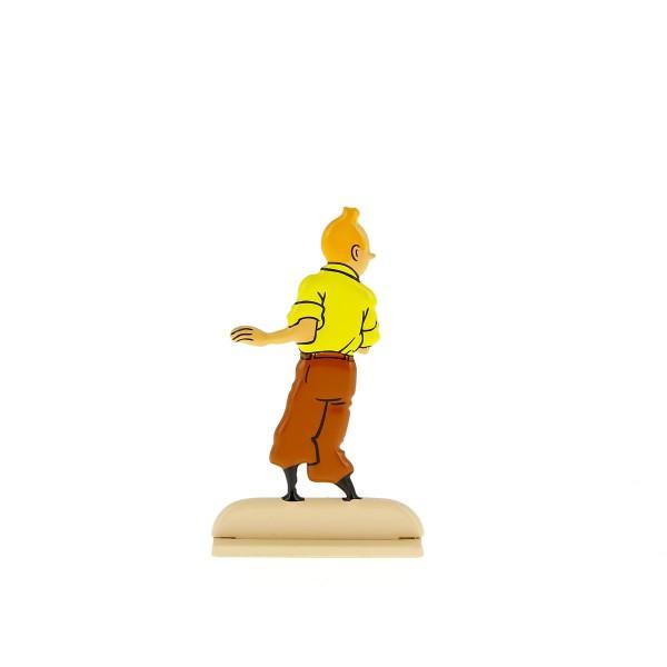 Tintin Metal Looking Around