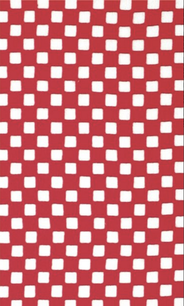 Kawamanu Tenugui Check red / Multi-purpose Japanese Cloth / DIY Face Mask