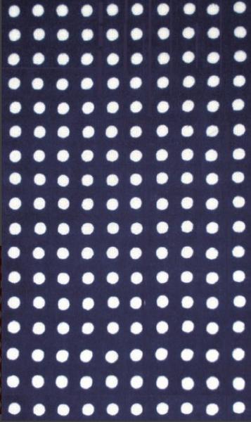 Kawamanu Tenugui Shibori Dots / Multi-purpose Japanese Cloth