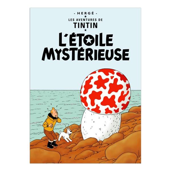 Tintin Poster L'Etoile Mysterieuse
