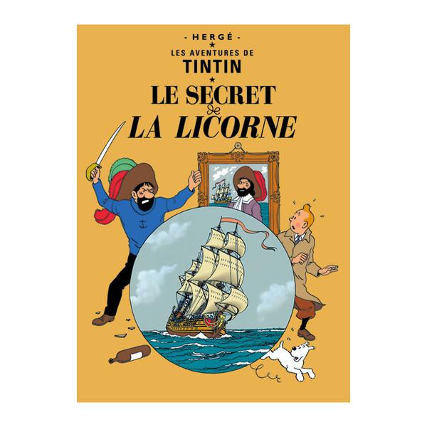 Tintin Poster Le Secret de la Licorne