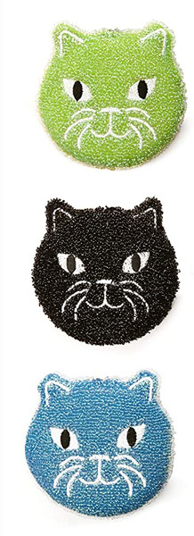 Kitty Scrub Sponge / Set of 3