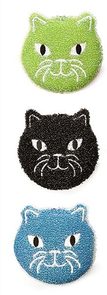 Kitty Scrub Sponge / Set of 3