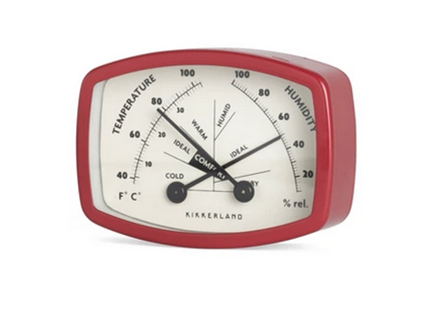 Magnetic Comfort Meter / Thermometer-Hygrometer