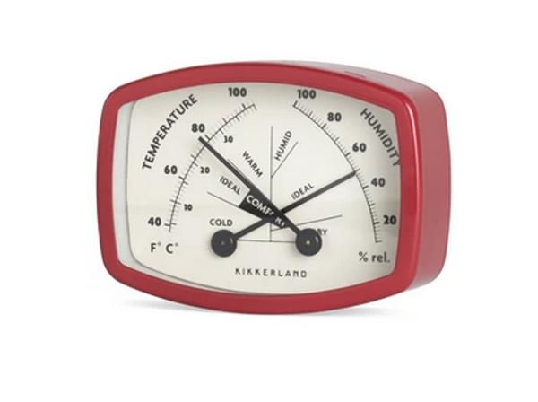 Magnetic Comfort Meter / Thermometer-Hygrometer