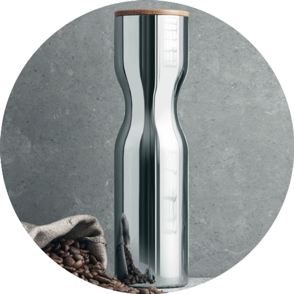 Alfredo Canister stainless steel
