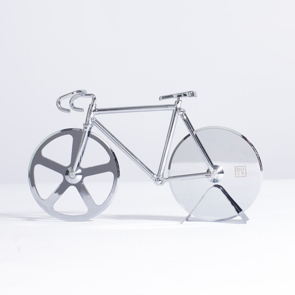 The Fixie Pizza Cutter silver