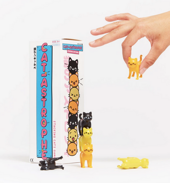 Cat-Astrophe Cat Stacking Game