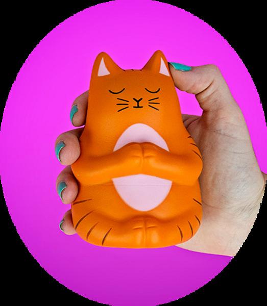 Meow-ditation Stress Toy