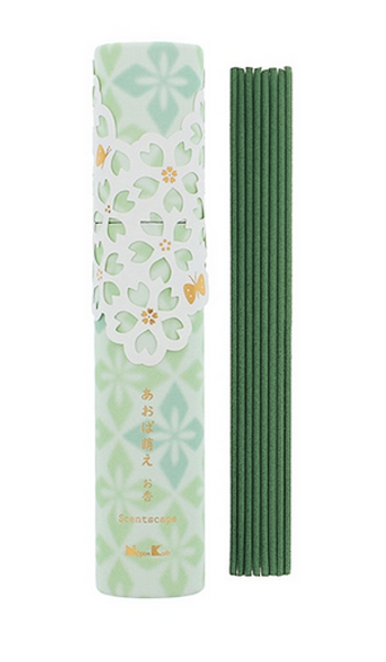Scentscape Spring Leaves Japanese Incense / White Plum, Cherry Blossom & Lily of the Valley