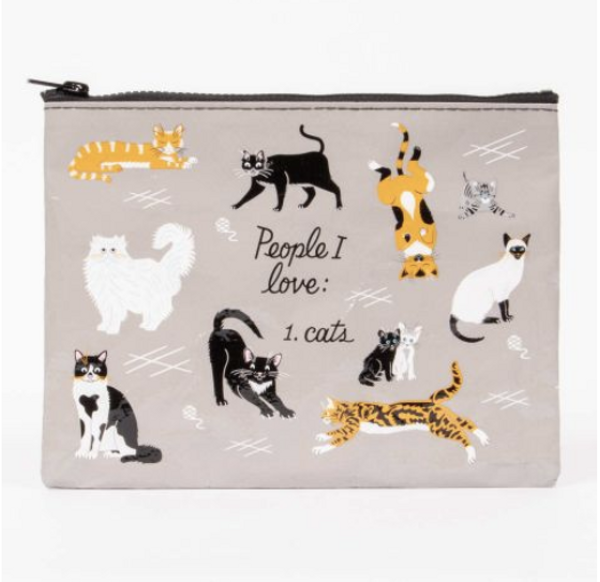 People I love: 1. cats Pouch